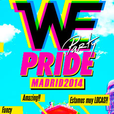 Comprar WE PARTY PRIDE FESTIVAL MADRID 2014