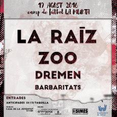 Comprar Fira d´Agost Xàtiva :: La Raiz + Zoo +  Dremen + Barbaritats